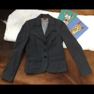 Esprit Dark Gray Wool Blazer Size 4